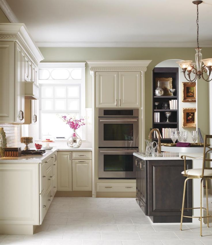Beautiful Traditional Kitchen Photo By Kemper Cabinetry   Homeclick Community