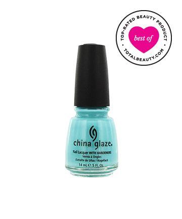 Best Nail Polish No. 4: China Glaze Nail Lacquer with Hardeners, $7.50