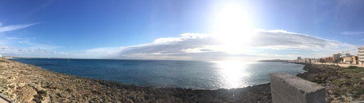 Gallipoli (Lecce) seaside overview.