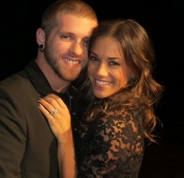 Brantley Gilbert and his lovely fiance Jana Kramer