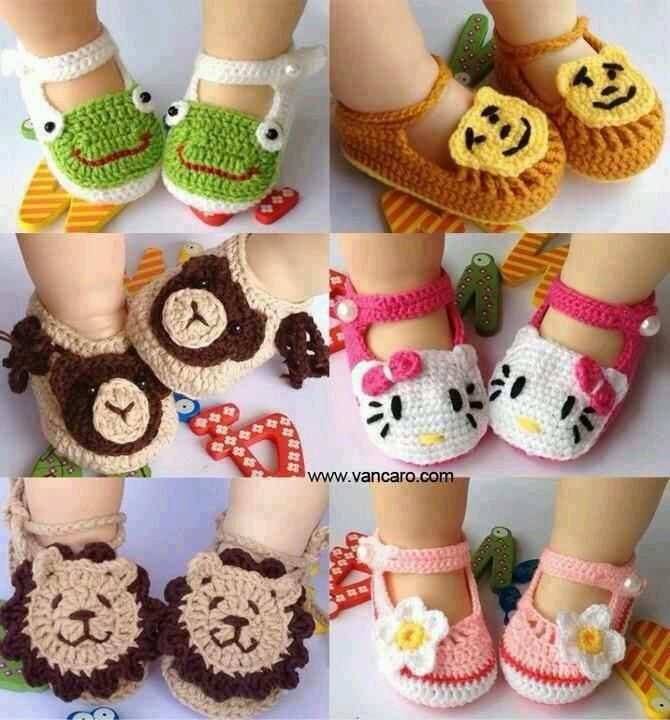 Cute Baby Crochet Booties, these are adorable XXX