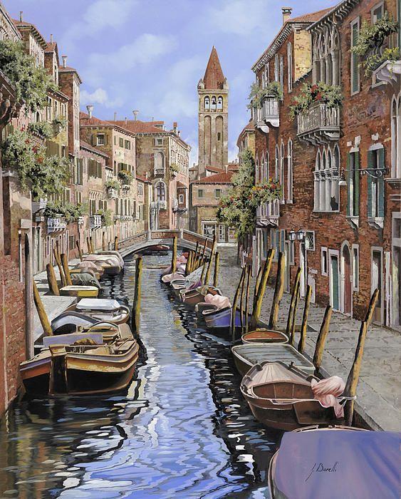 In Gatto Nero a Venezia (Guido Borelli)