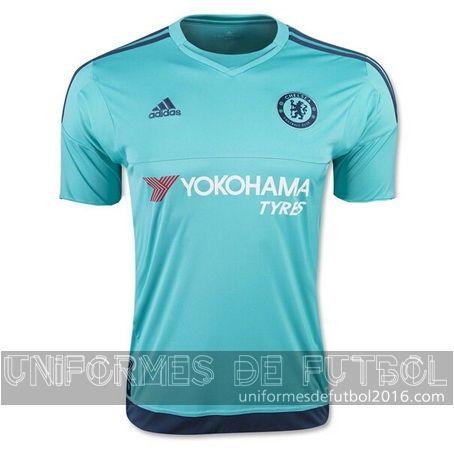 Jersey local para uniforme del portero Chelsea 2015-16
