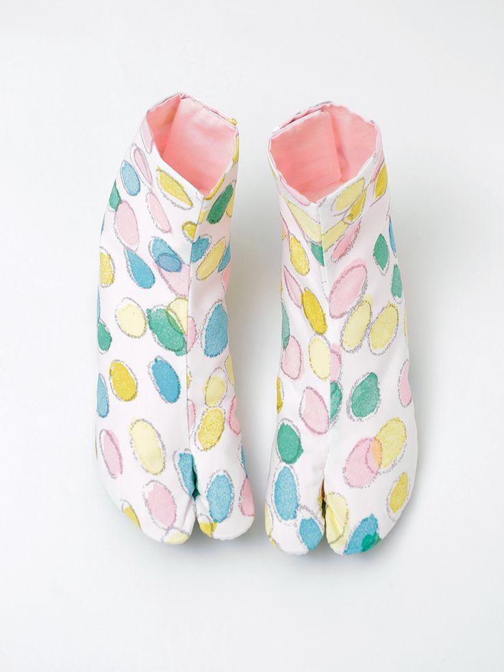 DOUBLEMAISON×mina perhonenコラボ足袋 jelly beans | DOUBLE MAISON