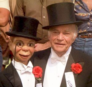 Charlie McCarthy is Edgar Bergen's famed ventriloquist dummy partner.