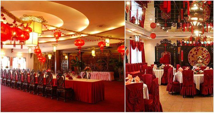 Банкетные залы для организации свадьбы в Китае