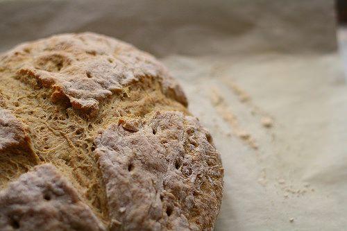 Pan de centeno: Mantequilla con azúcar