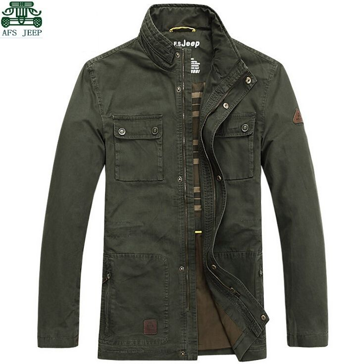 Find More Jackets Information about 2014 original man's cargo jackets,100%  cotton real man outdoor coats, wholesale afs jeep man's clothes,man autumn  casual ...