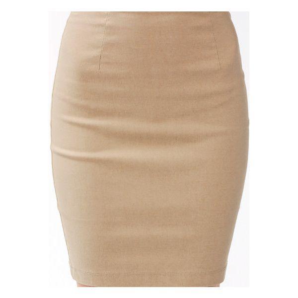 GoJane Skirts: Mini, Peplum, Midi, Maxi, Slit, Pencil, Skater, Denim,... ($26) via Polyvore