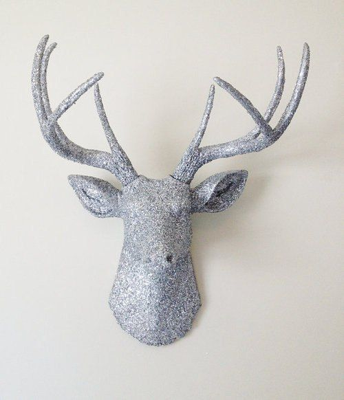 Finest 24 best Covered Deer Heads images on Pinterest | Wall mount, Deer  FX55