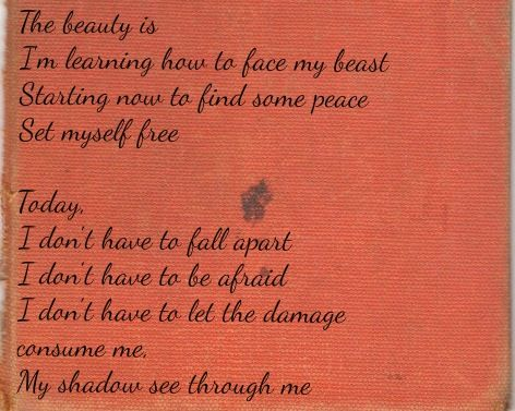Blue October - Fear lyrics  One of my favorite songs.