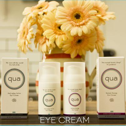 Qua Organic - Instant Energy Eye Cream OR Anti Aging Active Eye Cream (Depending on beauty profile information)