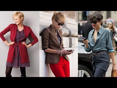 Pixie Haircuts Outfits Ideas - Short Hair Ideas for Women in 2017-2018