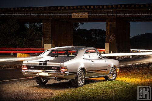 Kurt Davis' Holden GTS Monaro
