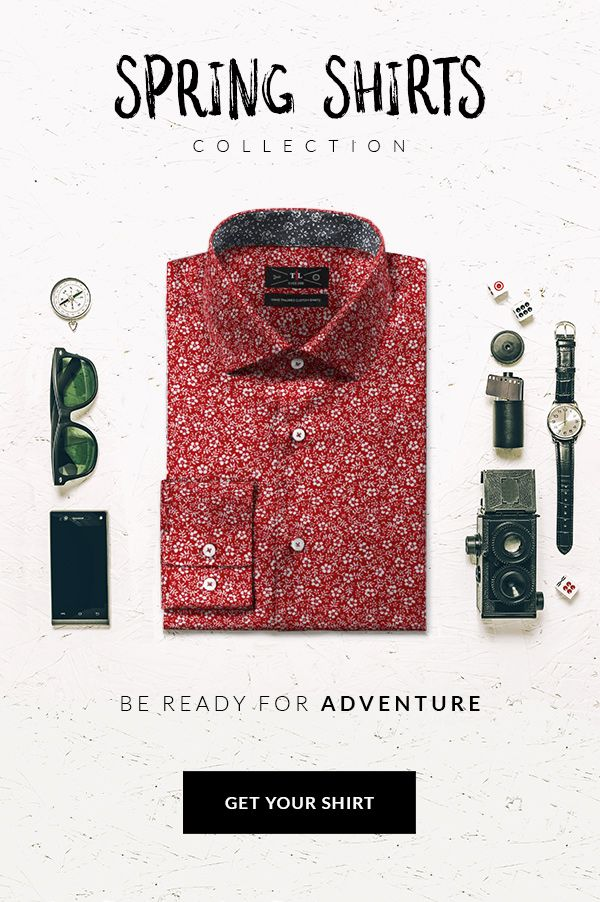 Spring Shirts Collection! Discover our new made to measure shirts: http://www.tailor4less.com/en-us/men/collections/spring-shirts