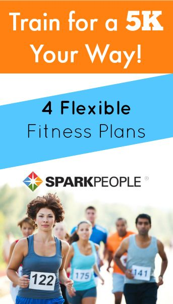 5K Training Plans for Walkers and Runners. Planning on running a 5K this fall! Great to find some options that work for my fitness level. | via @SparkPeople #5K #running