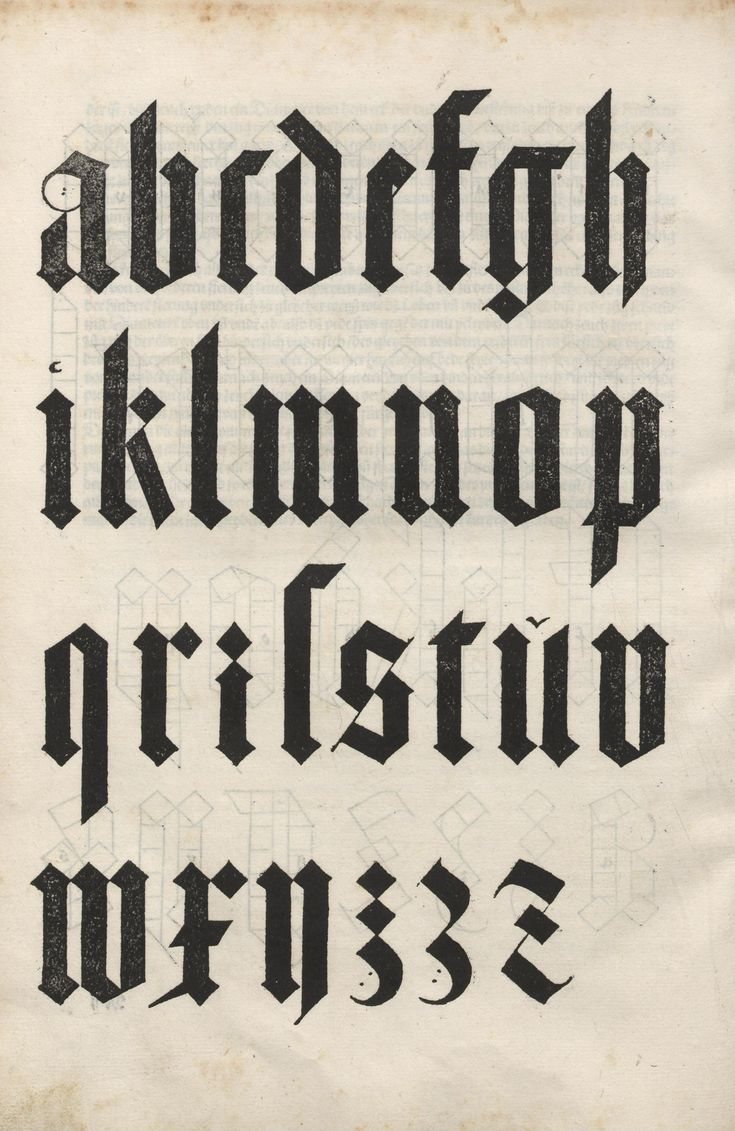 look through your history books folks; this is the same calligraphy the nazis used for their giant, hate-filled propaganda signs...