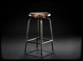Stools: Eco Industrial, Pub Stools, Industrial Chic, Pub Stooli, Swivel Pub, Industrial Pub, Kitchens Mad, Furniture Ideas, Industrial Bar Stools