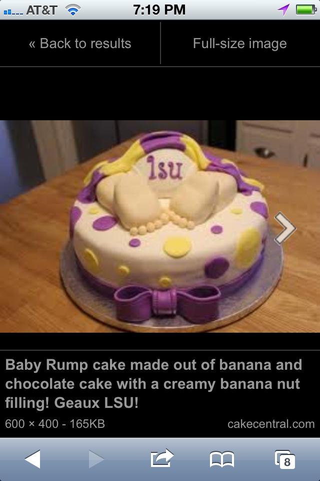 Charley Brown Baby Shower Cake