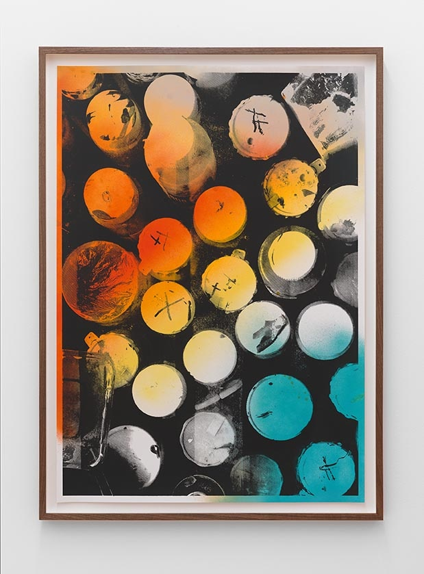 Luke Dowd - Paint Pots, 2011 - Rod Barton Gallery
