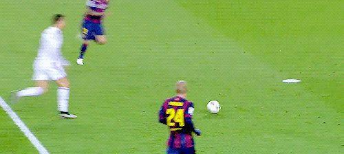 Ronaldo 31 '(asistencia: Benzema) | El Clásico 2015