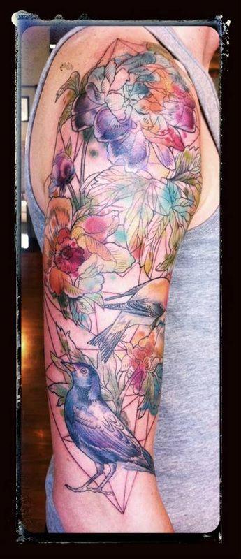 Alice Kendall - Wonderland Tattoos, Portland Oregon #ink #tattoo
