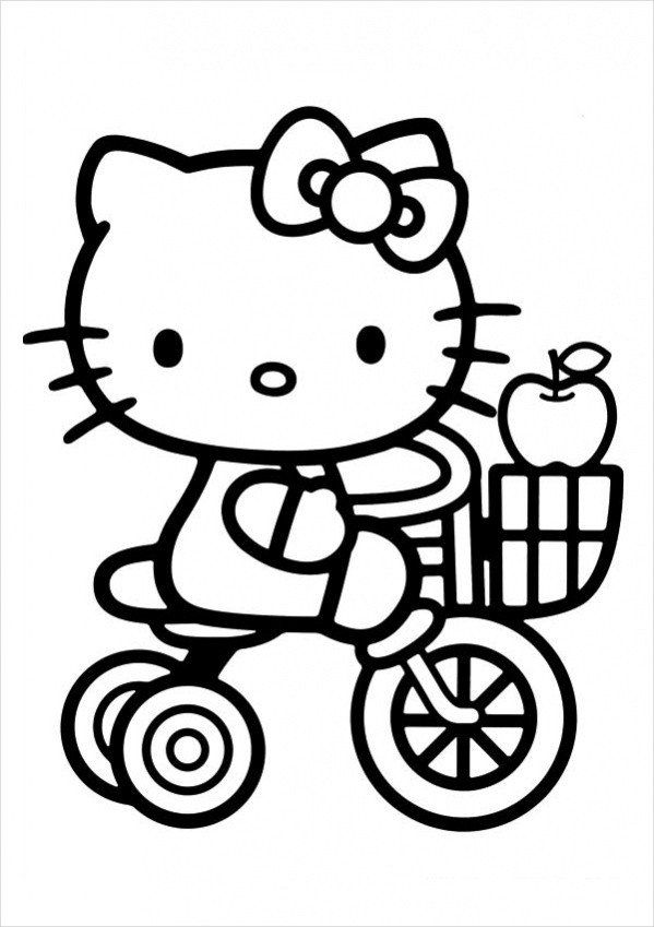 Hello Kitty Coloring Pages Free 18 Hello Kitty Coloring Pages In Pdf Hello Kitty Coloring Hello Kitty Colouring Pages Kitty Coloring