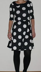 Cute dress with mega polka dots by moredresses4me.blogspot.com