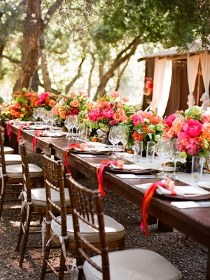 Outdoor receptionTables Sets, Napkins Rings, Pretty Wedding, Wedding Photos, Outdoor Tables, Wedding Reception, Outdoor Weddings, Tables Decor, Outdoor Receptions