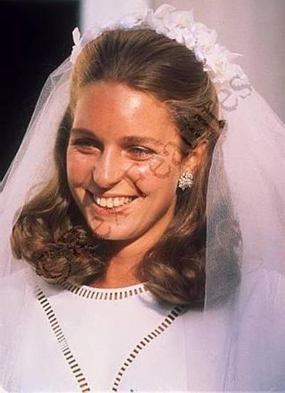 Queen Noor of Jordan.