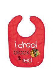 Chicago Blackhawks I Drool Bib