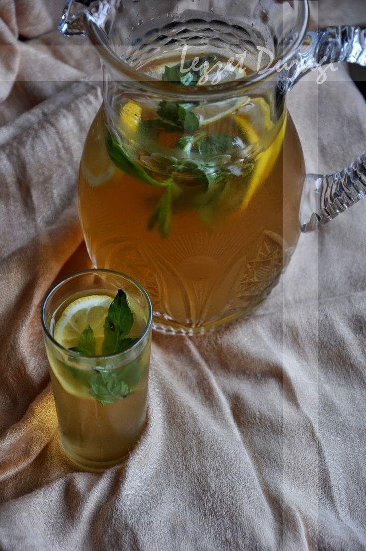 Buzlu Yeşil Çay & Green Iced Tea