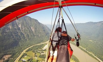 Beginners' Low and Slow Hang-Gliding Class or Tandem Hang-Gliding Session from Fly Gravity Sports (Up to 43% Off)