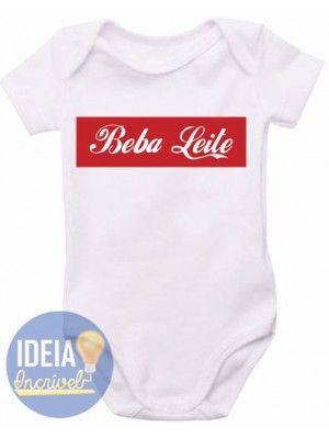 Body Infantil - Beba Leite