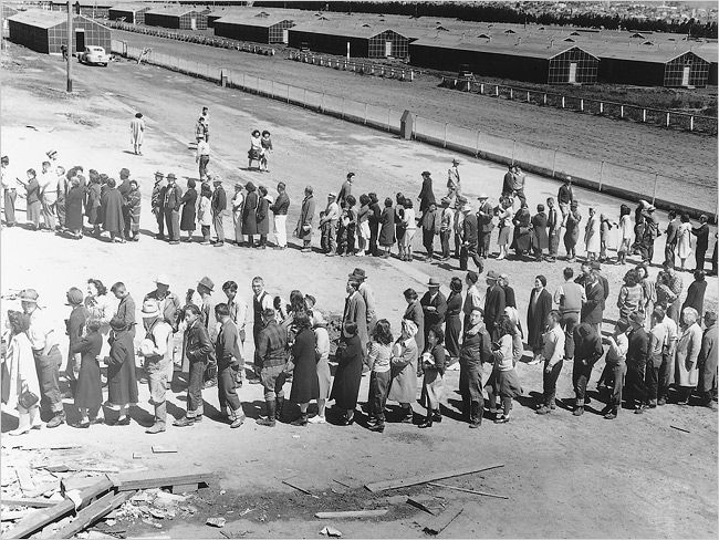 Close to 800 new images of Japanese internment camps by the photographer Dorothea Lange have been unearthed in the National Archives.