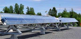 Los sistemas CSP emplean elementos ópticos, como espejos cóncavos para concentrar una gran cantidad de calor en el foco de la parábola que forma el espejo, por medio de estos sistemas se puede calentar agua a altas temperaturas