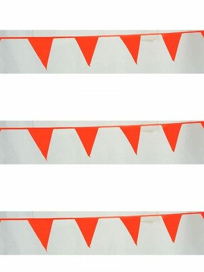 Banners Bunting And Garlands 77517 Pennant Banner 60 Ft String