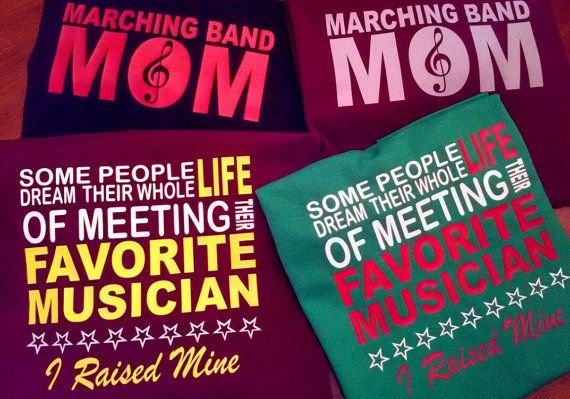 Hey, I found this really awesome Etsy listing at https://www.etsy.com/listing/199523346/marching-band-mom-shirt