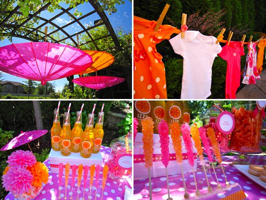 More bright & cheerful baby shower inspiration for your enjoyment!