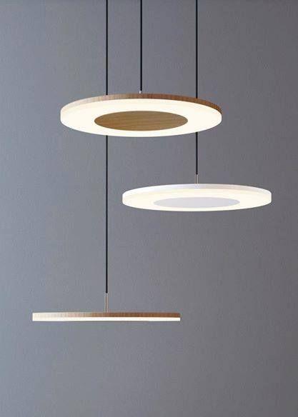 Minimalissimo bellisimo ! Κρεμαστά φωτιστικά LED σε μινιμαλιστικό design, σύνθεση ιδανική για το σαλόνι μας