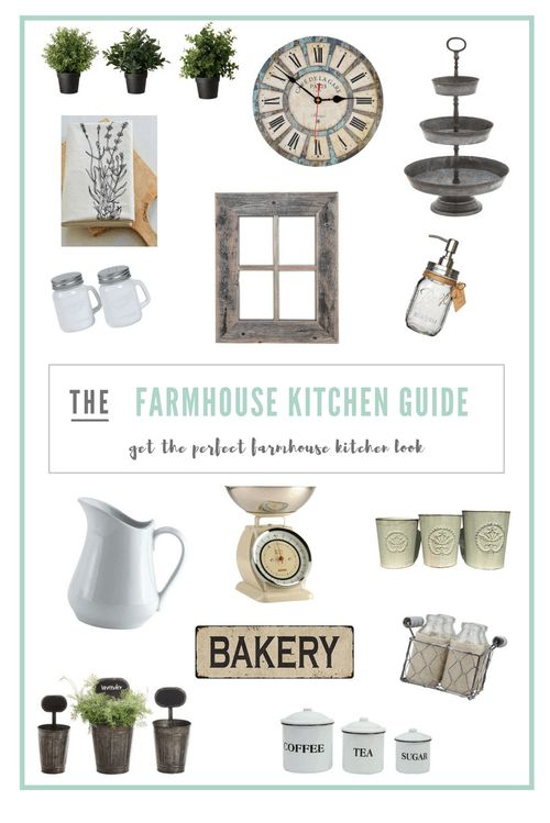 Get the Farmhouse Kitchen Look
