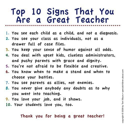 negative things about being a teacher