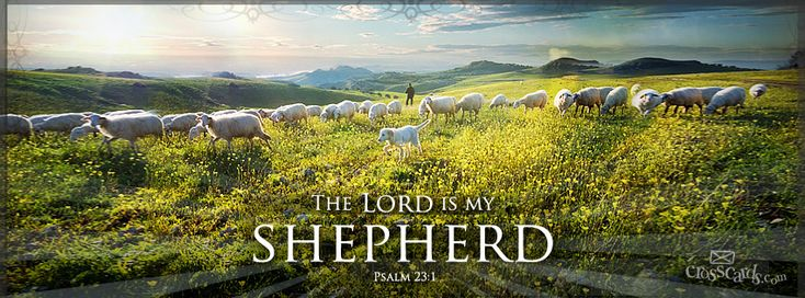 Download Psalm 23:1 - Christian Facebook Cover & Banner