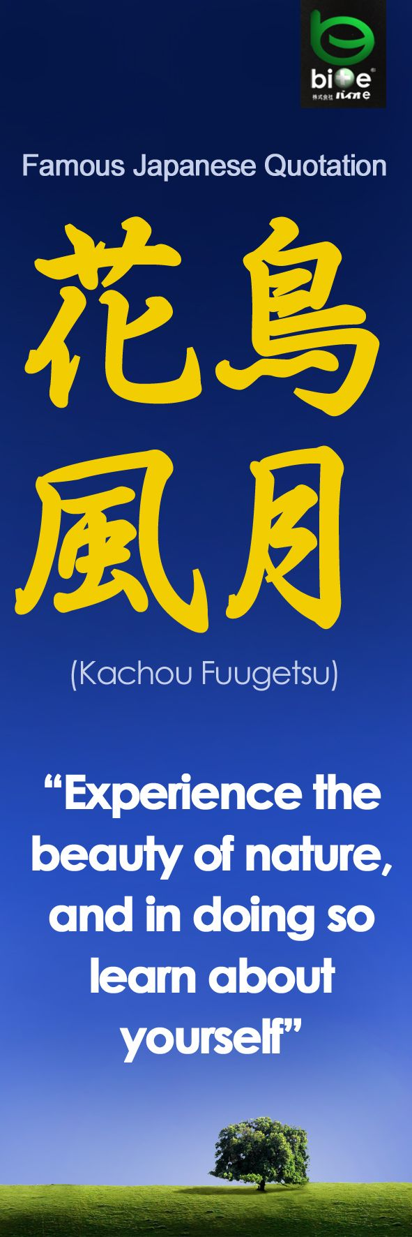 A Famous Japanese Quote