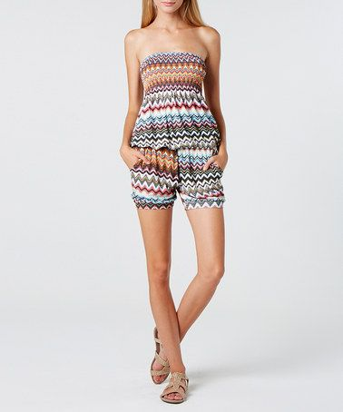 Take a look at this Stella Morgan: Multi-Colour Aztec Playsuit by Stella on #zulily today!http://www.zulily.co.uk/invite/akennington3