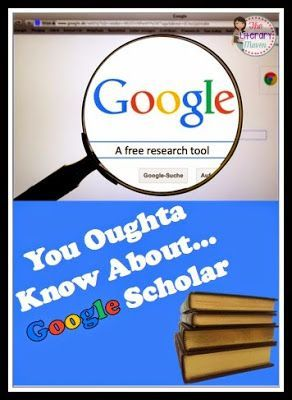 You Oughta Know About...Google Scholar {5/23). It's free, easy to remember and use, and accessible anywhere. Use Google Scholar for writing research papers or practicing research skills.