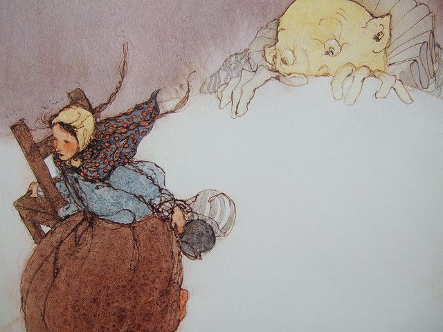 The Seven Ravens by the Brothers Grimm, Illustrated by Lisbeth Zwerger