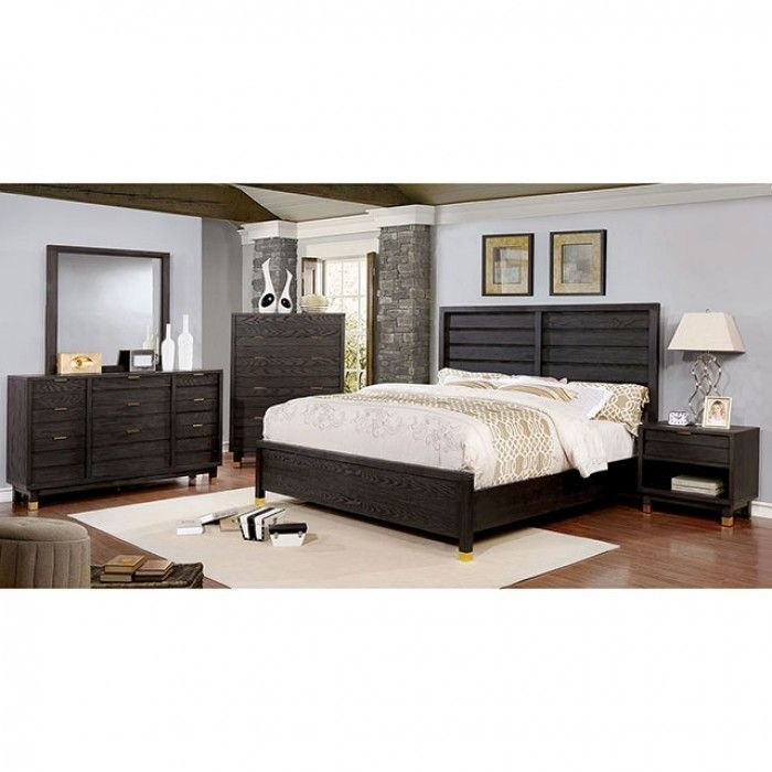 Persephone 4Pcs California King Bedroom Set CM7511 for $809