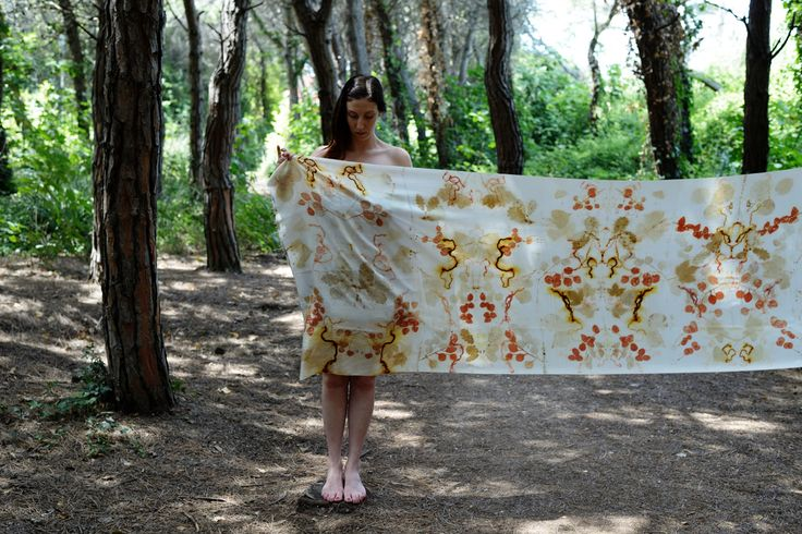 M.Y. garden | Youliana Manoleva  photo  by Giovanna Eliantonio #natural #dyes #print