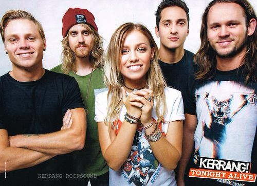 Tonight Alive - Kerrang! magazine